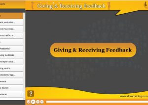 Giving and receiving feedback elearning module