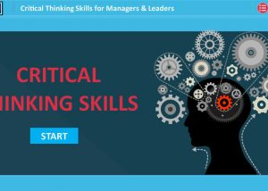 Critical thinking elearning module sample home screen