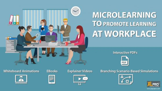 Workplace image depicting how microlearning can promote learning at workplace