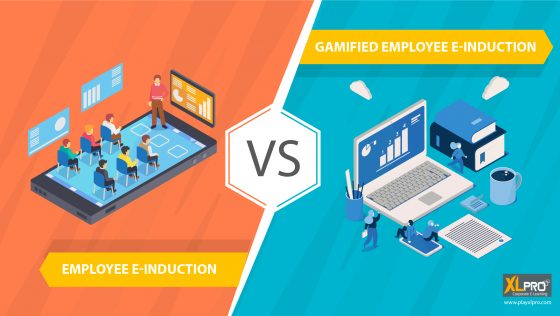 image depicting the comparison of e inducion and gamified induction